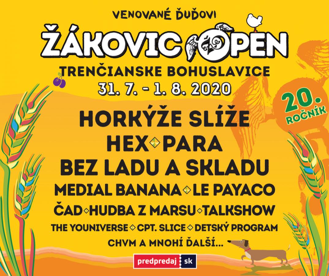 Žákovic Open slaví dvacet let, organizátoři festival věnovali Ďuďovi