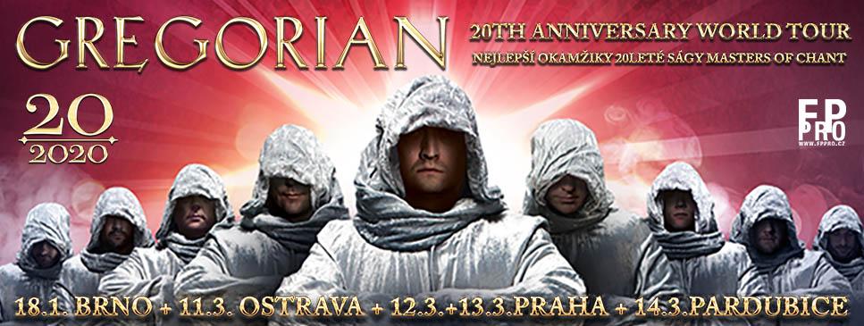 Soutěž o lístky na koncert Gregorián v Praze