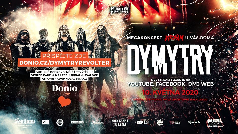 Dymytry streamovali revoluční Revolter show!