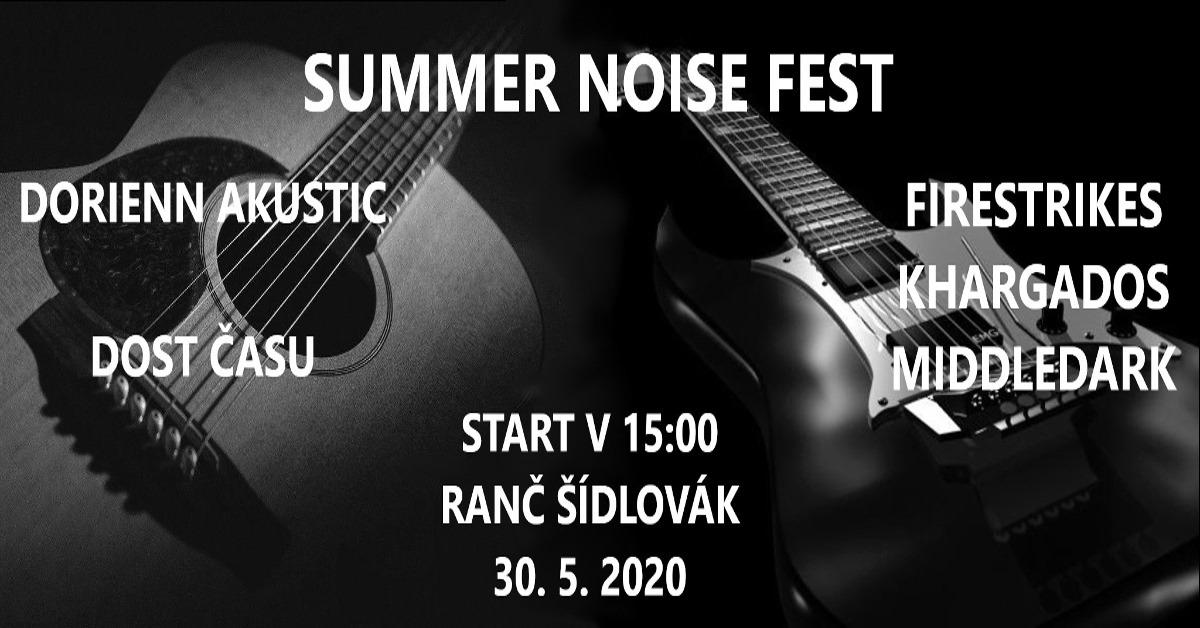 Summer Noise Fest odstartuje na plzeňském Ranči Šídovák již ve 14 hodin!