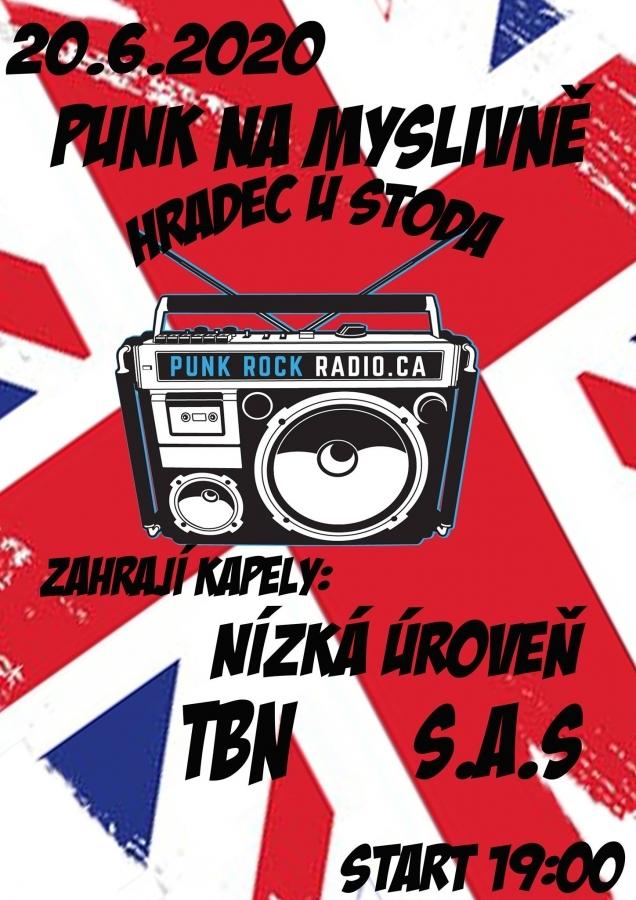 Punkový minifestival v Hradci u Stoda nabízí zajímavý line up a záživný večer