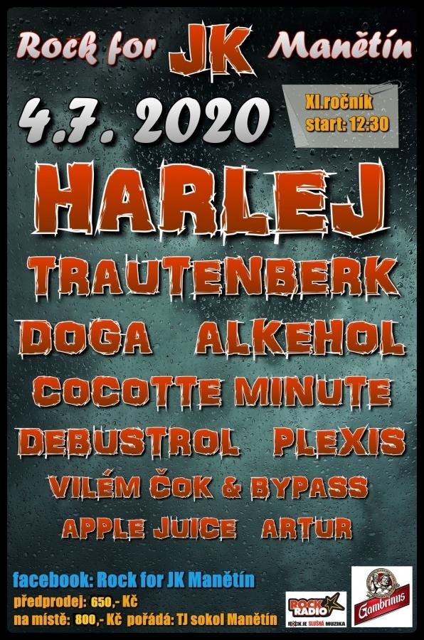 Rock for JK Manětín si letos připíše jedenáctý ročník do festivalové šňůry