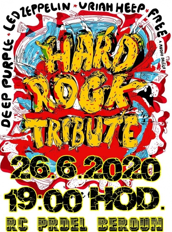 Revivalový nářez v RC Prdel Beroun s kapelou Hard Rock Tribute