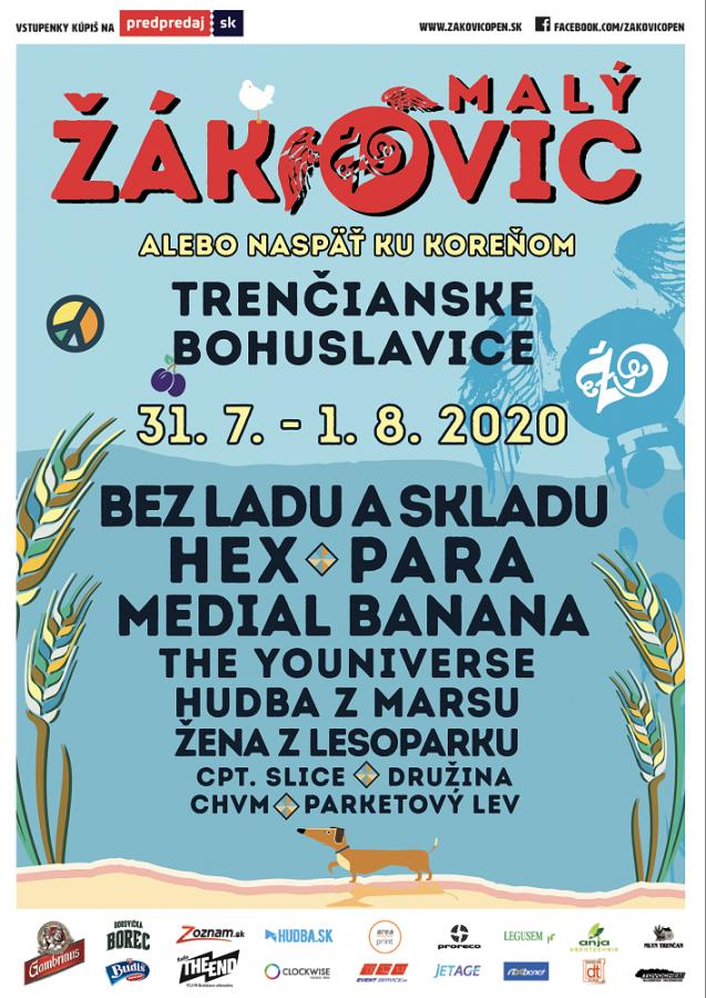 V Trenčianských Bohuslavicích se chystá MALÝ ŽÁKOVIC, bude náhradou za jubilejní dvacátý ročník festivalu