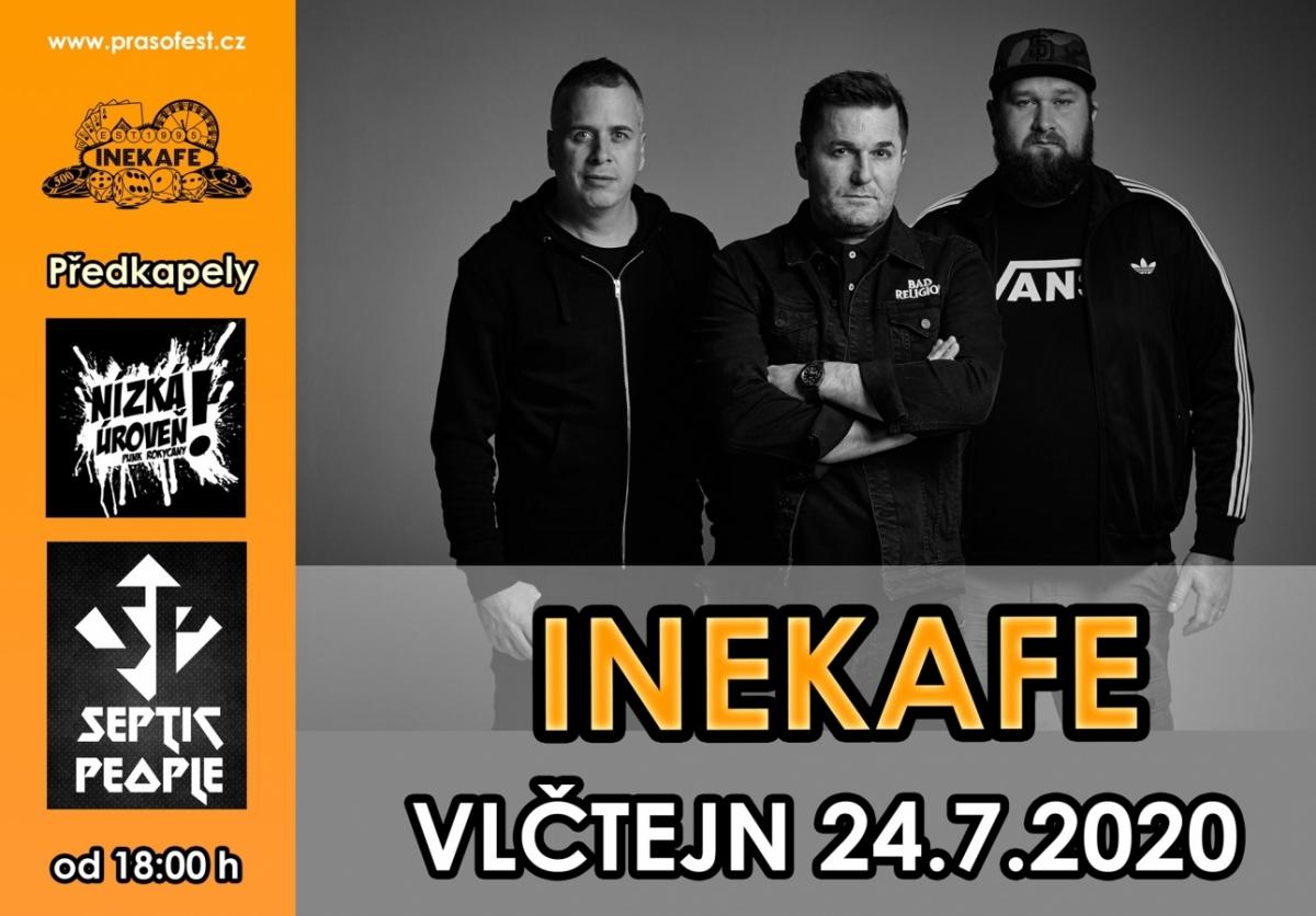 Na Vlčtejně se představí slovenská kapela Inekafe