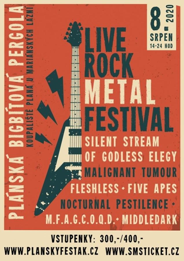 Rock metalový Plánský fesťák je za rohem