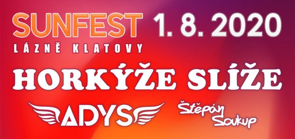 SUN FEST v čele s Horkýže Slíže ovládne Camp Lázně Klatovy!