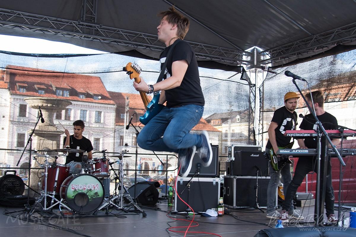 Poslední koncertní srpnová středa v Klatovech dostala změnu line upu