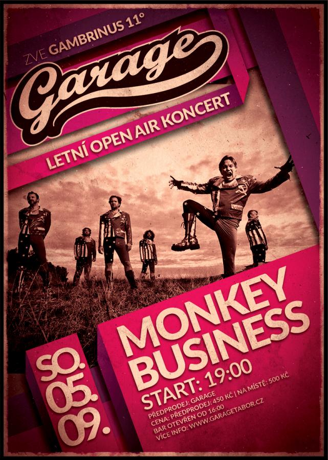 Soutěž o lístky na Monkey Business do Tábora