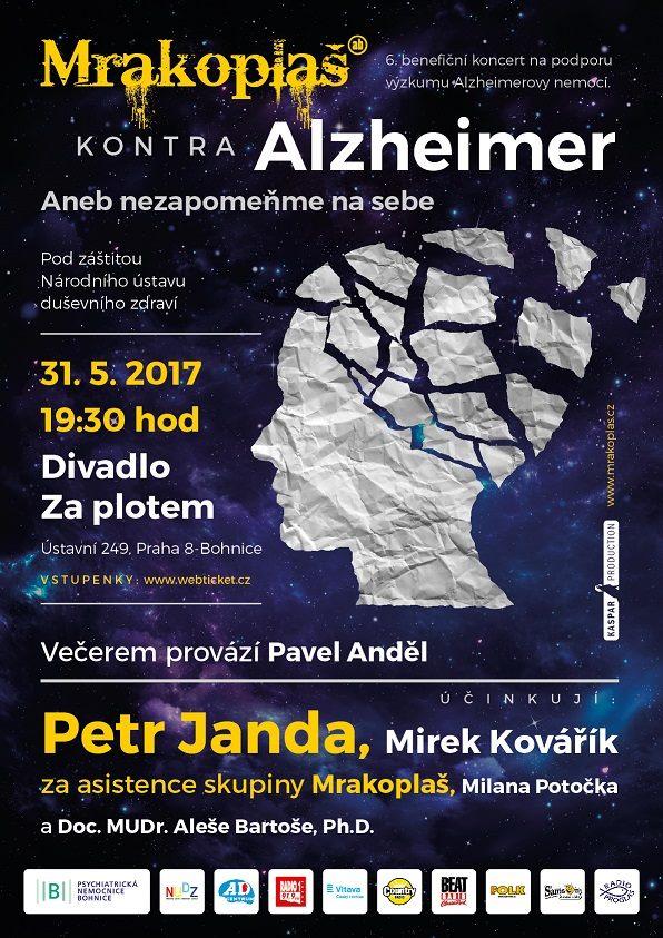 Mrakoplaš kontra Alzheimer se blíží