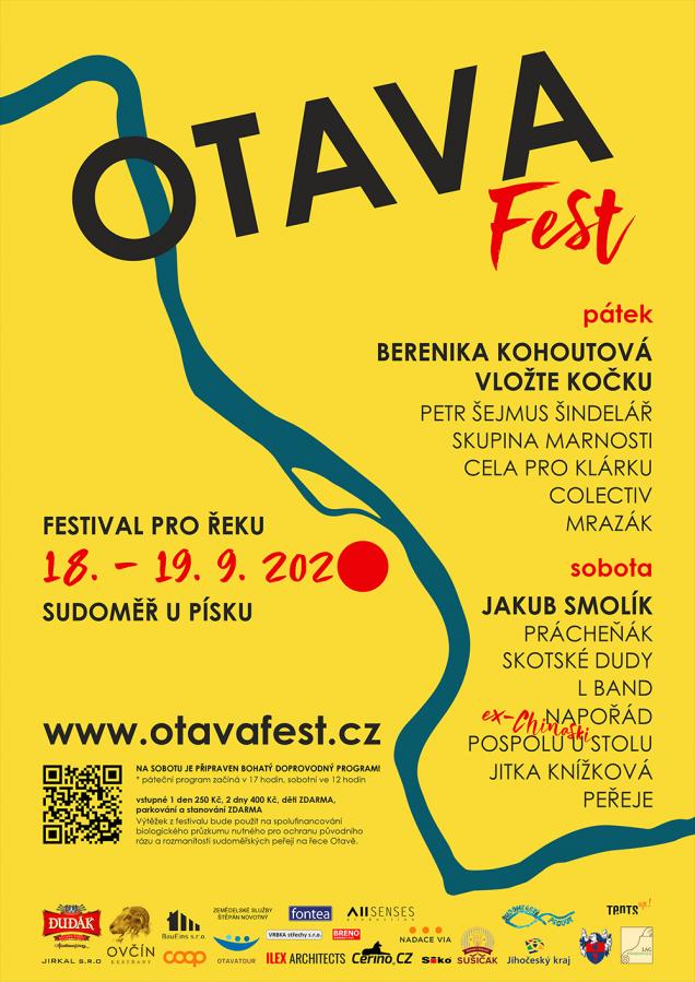 1. ročník benefičního multižánrového festivalu Otava fest nabídne po dva dny pestrý hudební i doprovodný program pro děti i dospělé