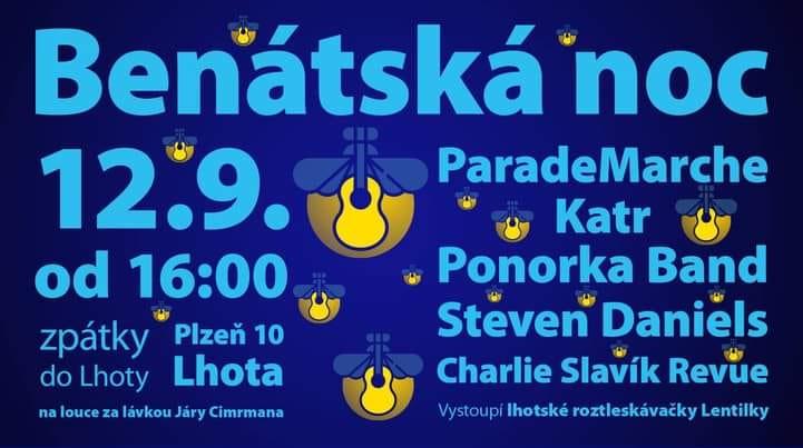 Benátská noc ve Lhotě u Plzně odstartuje tuto sobotu již v 16 hodin!