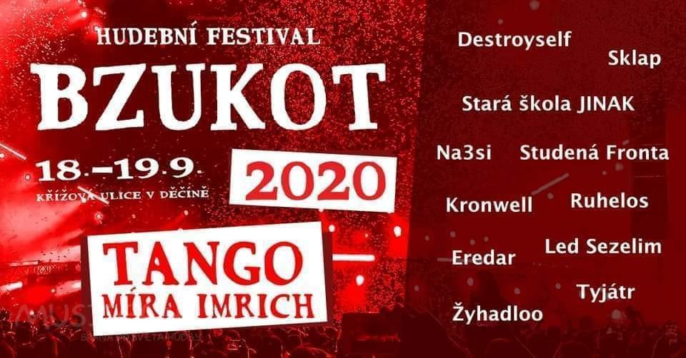 Soutěž o vstupenky na letošní Bzukot