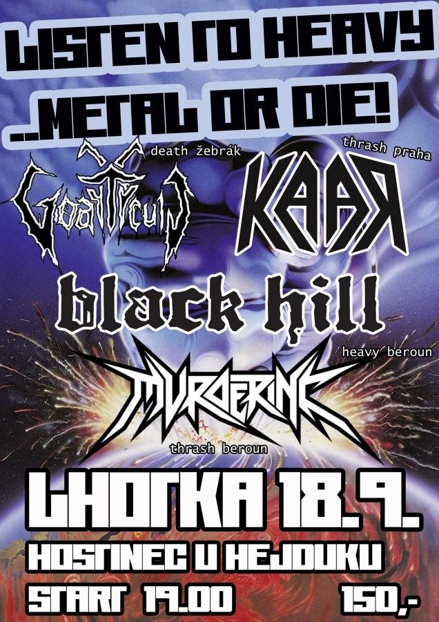 Peklo v hostinci U Hejduků se bude jmenovat Listen to Heavy Metal or Die