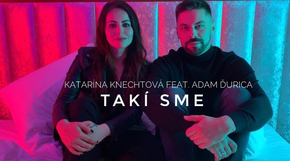 """Katarína Knechtová představuje duet s Adamem Ďuricou """"Takí sme"""", sexy klip natáčela na zámku"""