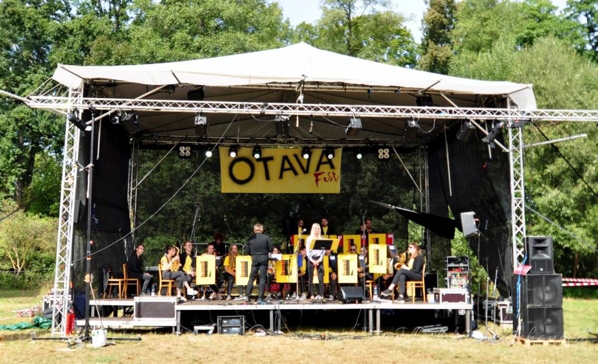 V Sudoměři u mlýna se odehrál první ročník festivalu pro řeku Otavu
