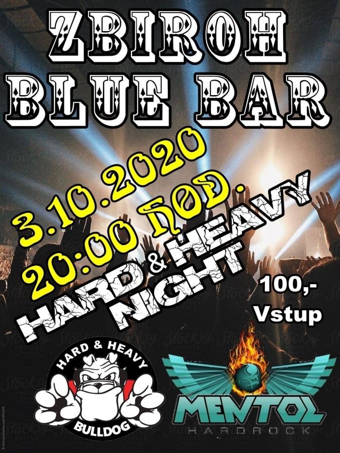Blue Bar Zbiroh pohostí tento víkend očekávanou Hard & Heavy Night