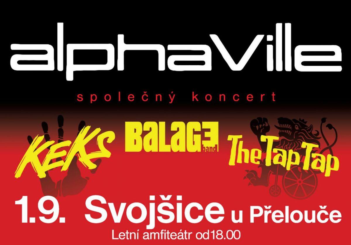 Jediný koncert v Čechách: Alphaville poprvé letos pod širým nebem.