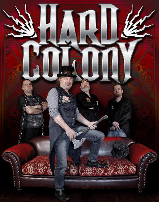 Říjnové debutní album kapely Hard Colony má již čtyři videoklipy!