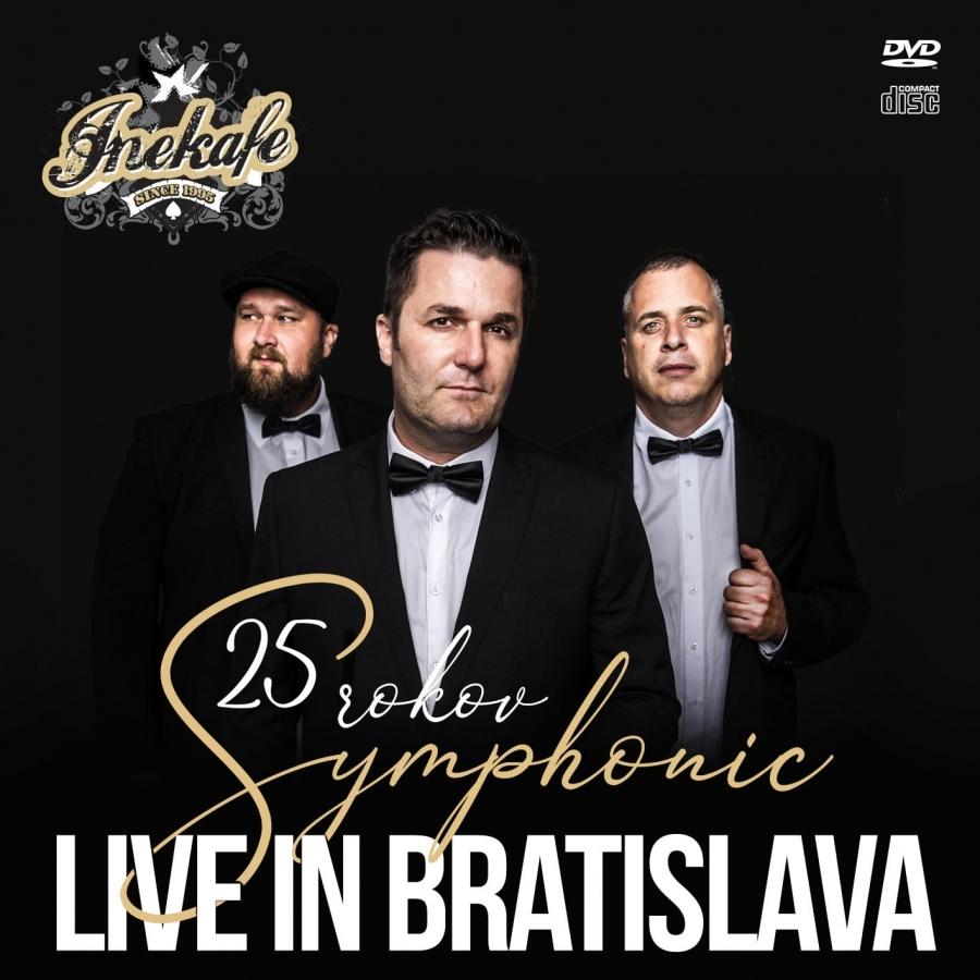 Iné Kafe má nové DVD a CD z velkolepého symfonického koncertu v bratislavském NTC!