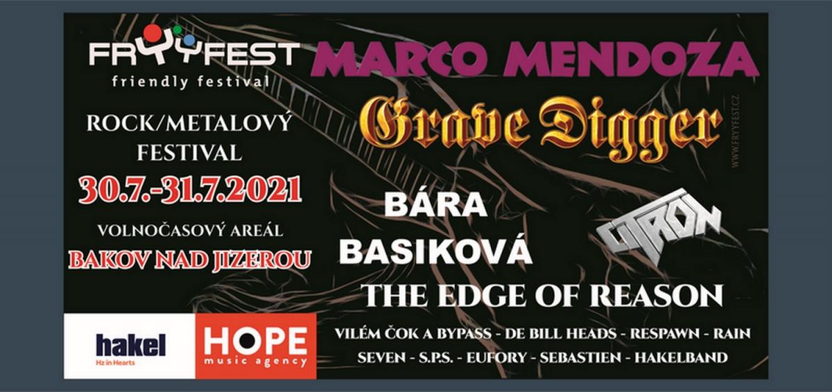 Fryyfest 2021 v Bakově nad Jizerou bude plný hvězd zahraniční i české rockmetalové scény!