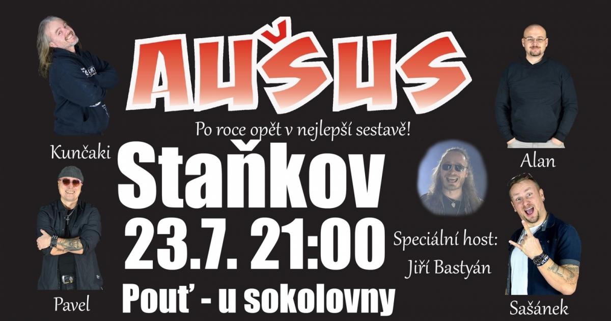 Kapela Aušus zahraje ve Staňkově jako v dobách minulých