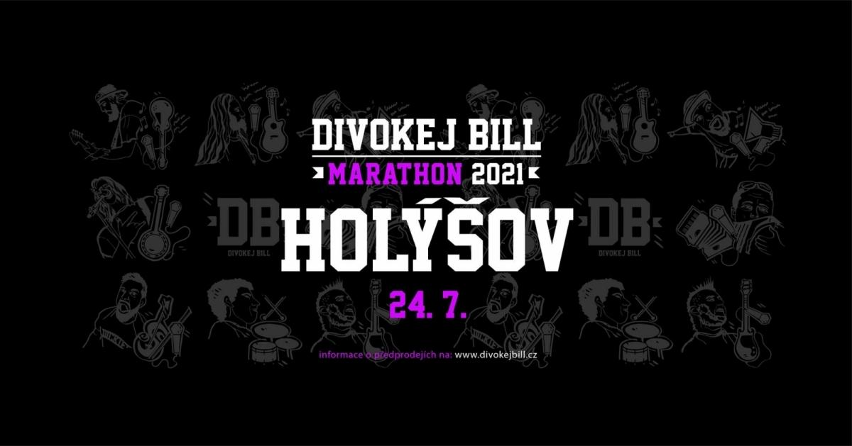 Divokej Bill odpálí svůj Marathon 2021 i v Holýšově!