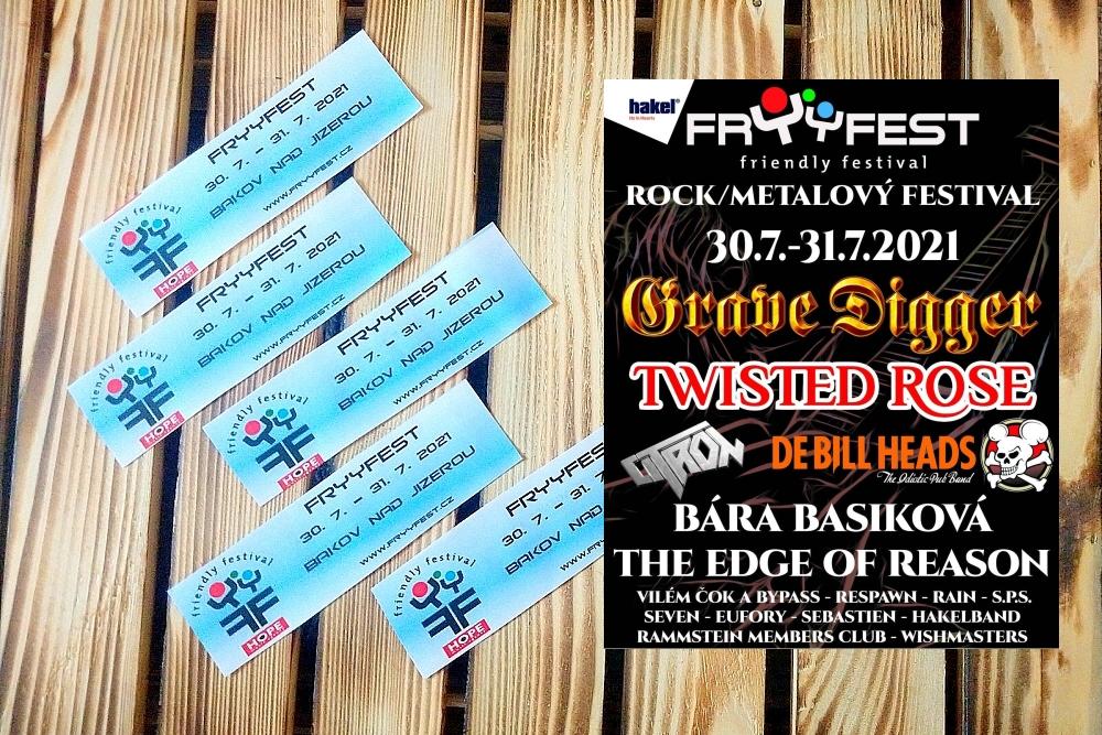Soutěž o vstupenky na friendly festival Fryyfest 2021