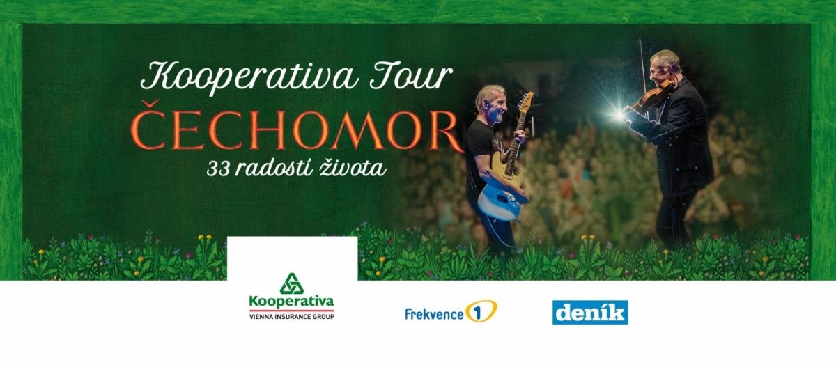 Soutěž o vstupenky na koncert Čechomor + Voxel do Příbrami