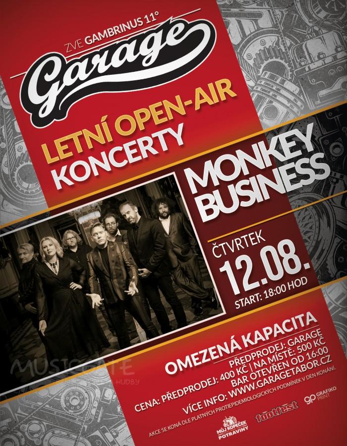 Soutěž o lístky na Monkey Business  Monkey Business v Táboře