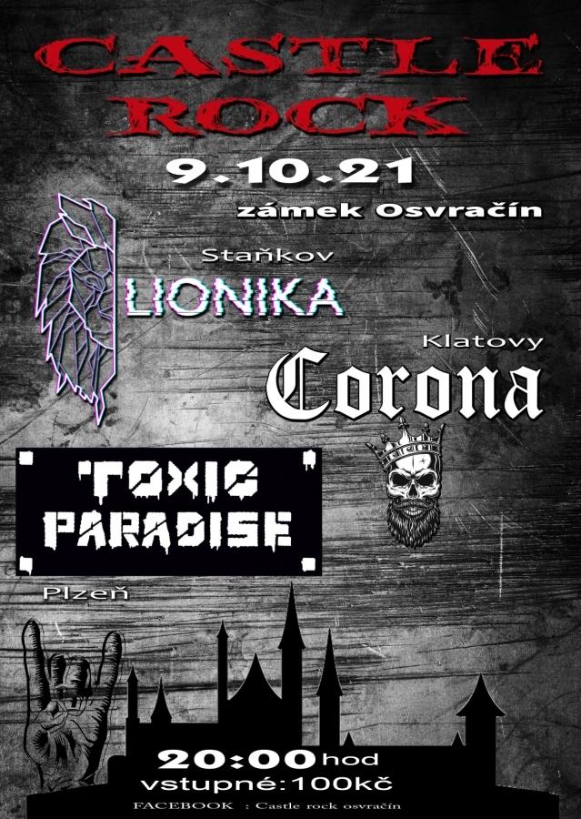 O první zápis do hudebních kronik se přihlásí festival Castle rock Osvračín