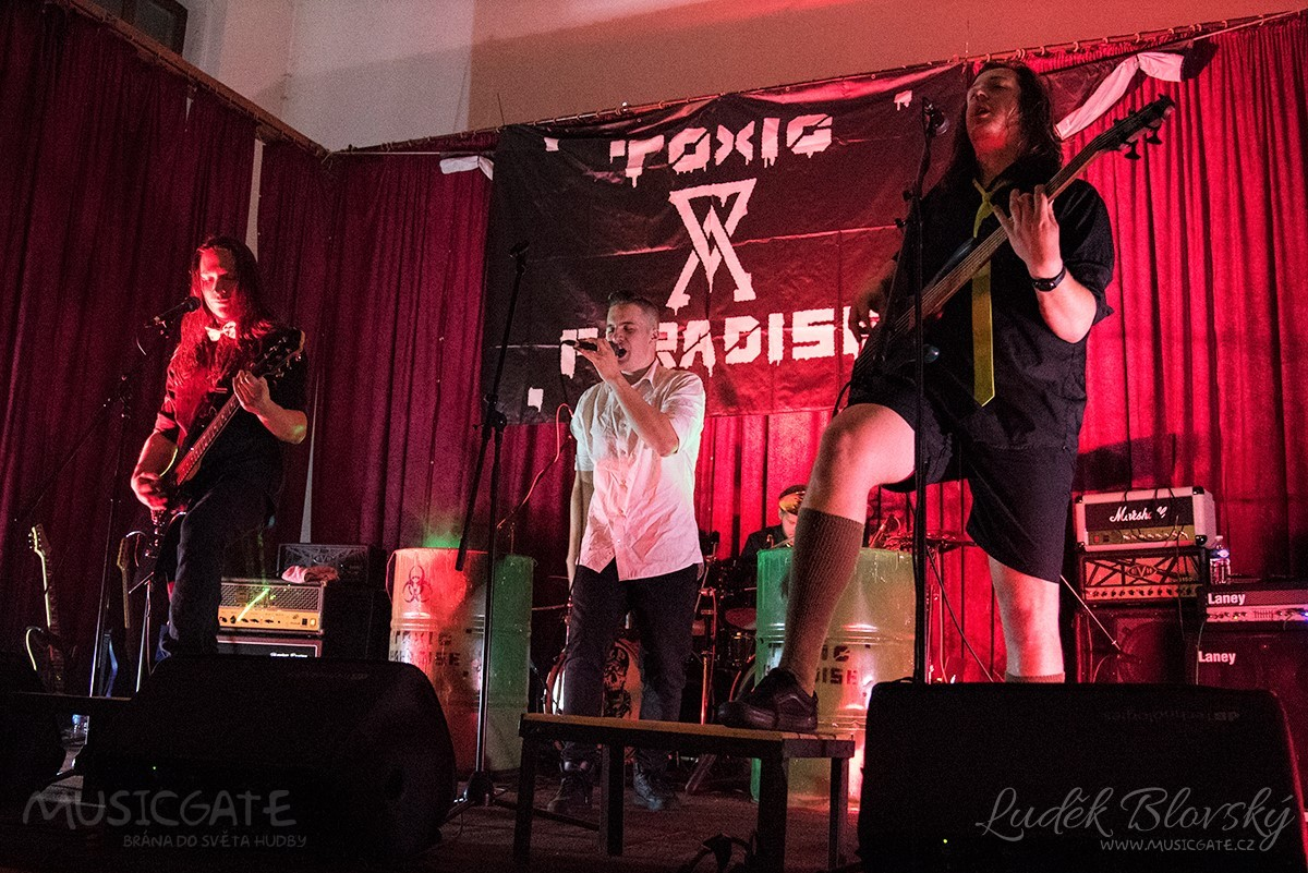 Plzeňský Toxic Paradise se stal historicky první kapelou nového festivalu Castle rock Osvračín