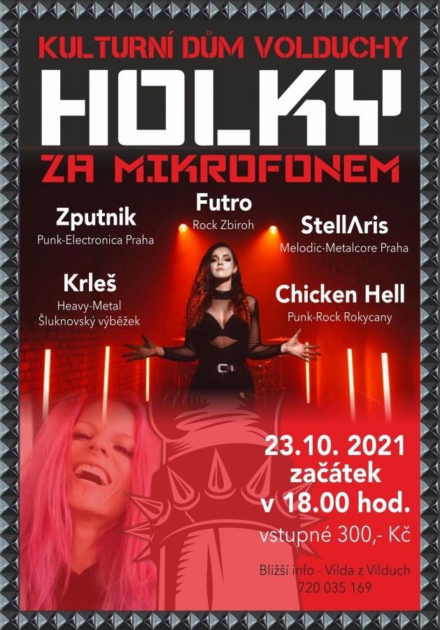 Holky za mikrofonem – očekávaný multižánrový festival v KD Volduchy