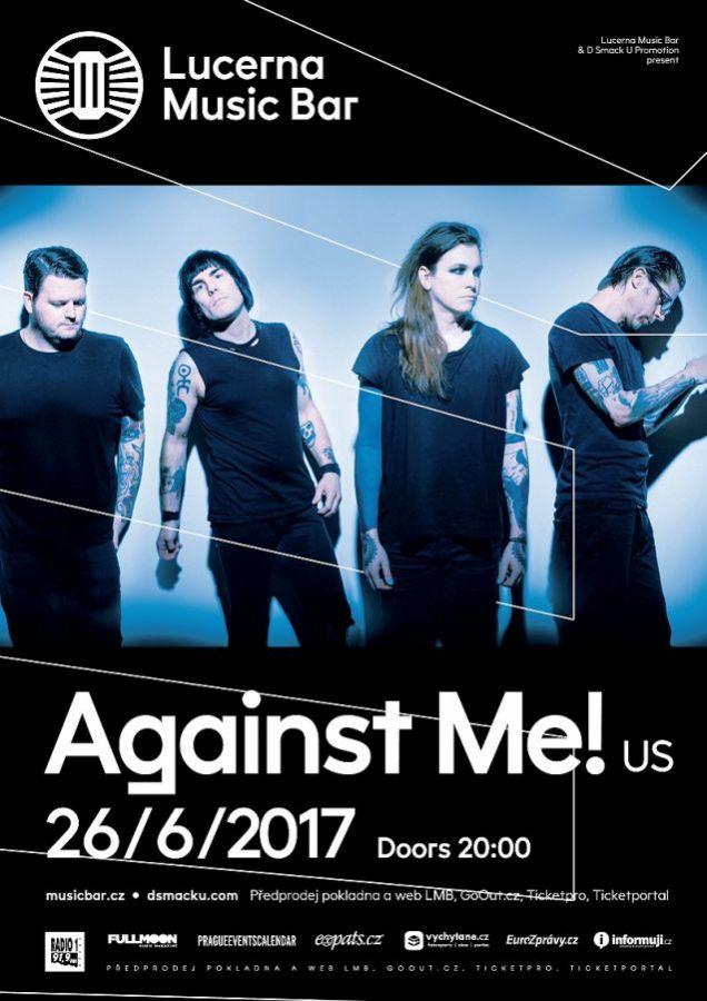 Against Me! předskočí Tim Vantol a Burning Steps!