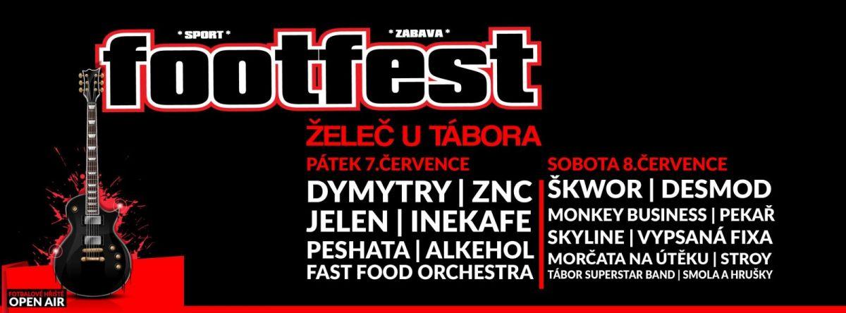 Soutěž o vstupenky na Footfest