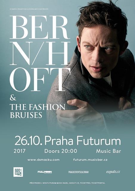 Bernhoft & The Fashion Bruises jsou dalším jménem plnícího se podzimu ve Futuru!