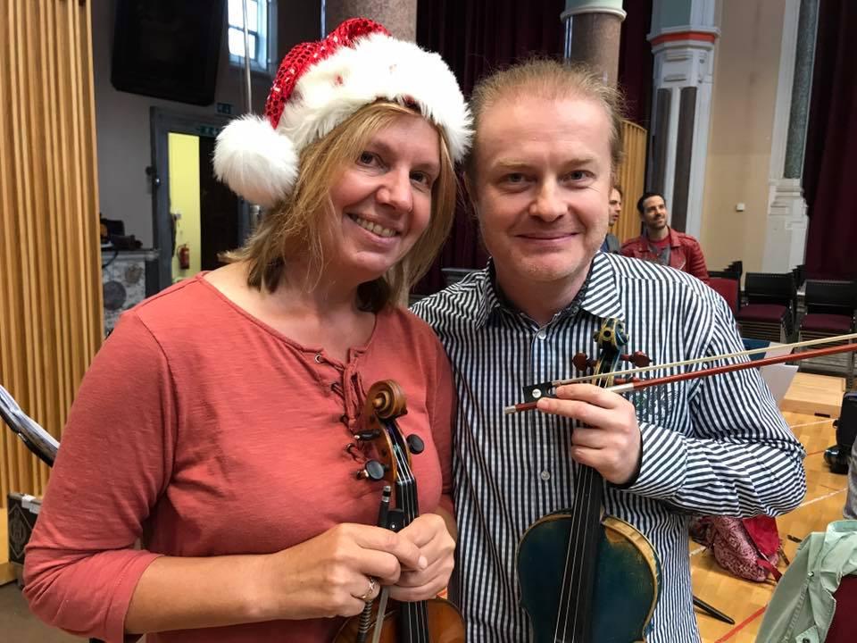 Pavel Šporcl natáčel s proslulou Královskou liverpoolskou filharmonií své první vánoční album
